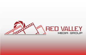 Red Valley Media Group company logo with gradient background